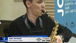 Karol Mastalerz plays Sonate by Edison Denisov