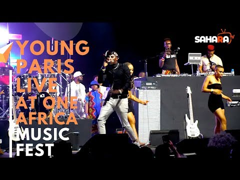 YOUNG PARIS Of Congo Performs Live At #ONEAFRICAMUSICFEST NYC 2019