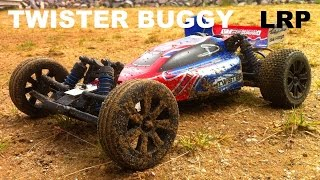 LRP S10 Twister Buggy 2WD 1/10 - RC RUNNiNG ViDEO