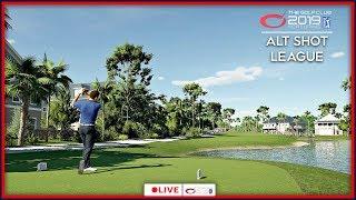 The Golf Club 2019 Alt Shot League - Match #6 LIVE | PS4 Pro Gameplay