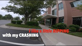 I like a little Ripping with my CRASHING - Kiss Apex FPV Freestyle and Crashing