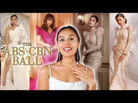 ABS-CBN BALL 2019 | MY TOP 10 BEST DRESSED REACTION | WHO WOULD I WEAR?