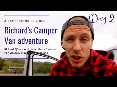 Richard's Camper Van adventure part 2 - CamperStories