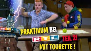 Tourette als Praktikant bei RTL: Jan wird Moderator (2)