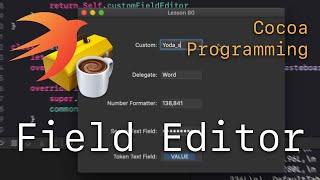 Cocoa Programming L80 - Field Editor
