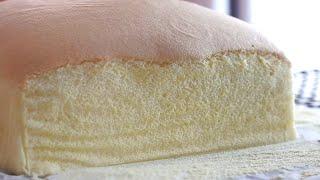 How to make the world's softest sponge cake(  Taiwanese Castella Cake Recipe)