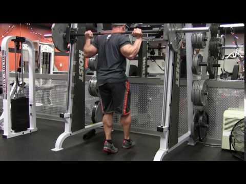 Smith Machine Single Leg Calf Raise