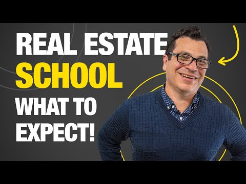 Real Estate School: What to Expect - YouTube