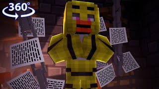 360° Five Nights At Freddy's - CHICA VISION - Minecraft 360° Video