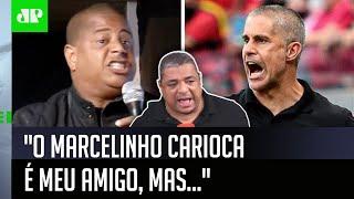 """Marcelinho mete o pau em Sylvinho, e Vampeta dispara: """"É meu amigo, mas…"""""""