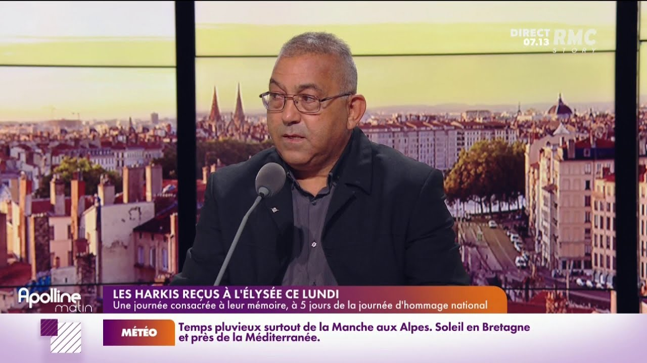 """Le président de l'association """"Les harkis et leurs amis"""" est le témoin RMC"""