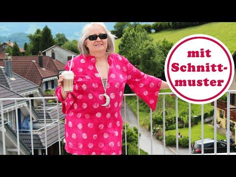 Tunika nähen | Sunny Mood mit ChezNU-Schnittmuster in Grösse XL