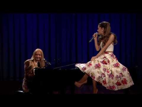 Ariana Grande with her Broadway team – I Speak Six Languages
