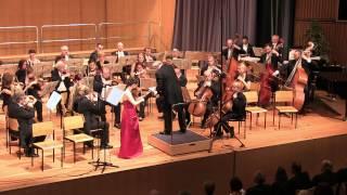 Viktoria Kaunzner plays Samuel Barber Violin Concerto Op. 14