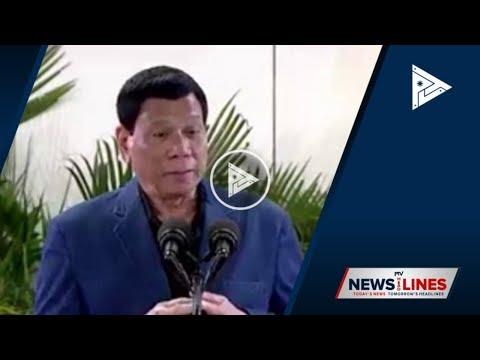 [PTV] President #Duterte reiterates safe passage offer to Reds