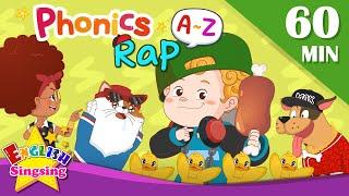 English Phonics Rap   A to Z for Children   Collection of Kindergarten Song
