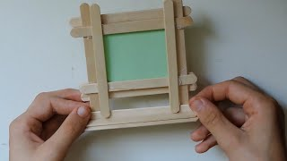 Popsicle Stick Picture Frame Free Video Search Site Findclip