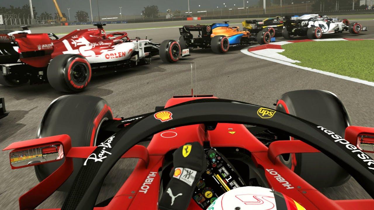 Aaarava: 2020 Bahrain GP Sebastian Vettel F1 Challenge