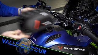 Der neue PRO Tankrucksack von SW-MOTECH für Motorradfahrer