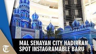 Instalasi Masjid Megah ala Timur Tengah di Mal Senayan City Jadi Spot Instagramable Pengunjung