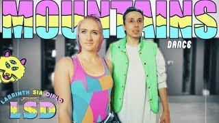 LSD   Mountains Ft. Sia, Diplo, Labrinth Dance   Patman Crew Choreography