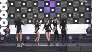 4Minute - Mirror Mirror, 포미닛 - 거울아 거울아, Music Core 20111015