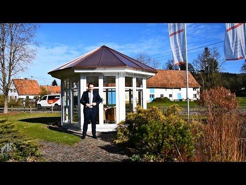 "Exklusiver Gartenpavillon ""Mediona"" - HUMMEL Blockhaus"