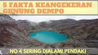 5 Fakta Keangkeran Gunung Dempo Yang Tak Terungkap. Nomor 4 Sering Dialami Pendaki, Serem!