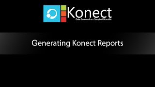 generating konect reports