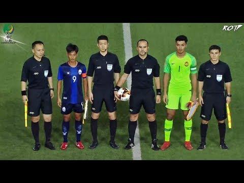 Cambodia 4 - 5 Malaysia (Highlight HD - AFC U19 2020 Qualify - 2/11/2019)
