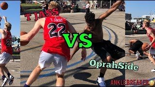 OprahSide says he can guard me.. 1v1 and CRAZY layups!!