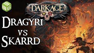 Dragyri Earth Caste vs Skarrd Dark Age Battle Report Steve Ep1