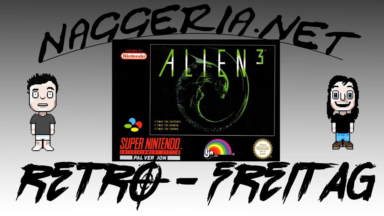 [Retro-Freitag] Alien 3 (Super Nintendo)