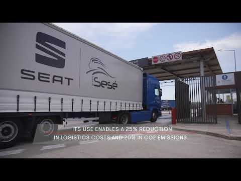 Video bij: Seat test 32 meter duo trailer LZV