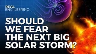 The Grid vs. The Next Big Solar Storm