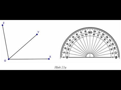 TOÁN 6: Số đo góc
