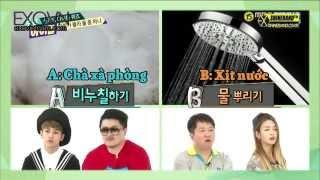 [Vietsub] 14.06.25 Baekhyun and Sehun Shower Quiz @ Weekly Idol [EXOVIETNAM COM]