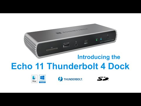 Sonnet Echo 11 Thunderbolt 4 Dock Product Overview