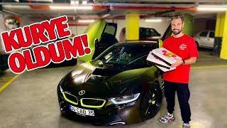 BMW i8'LE KURYE OLDUM! Takipçilerime Sürpriz Yaptım 😍