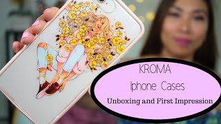 💐Kroma BPA Free Iphone Case Unboxing And First Impression| Maureen Scott 💐