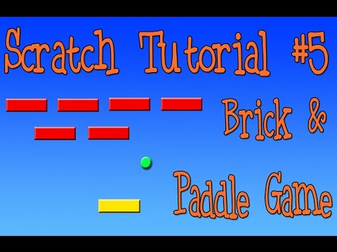 Scratch Tutorial: Paddle and Brick Game