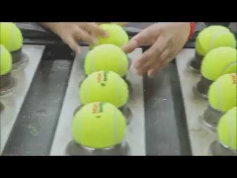 Paso a paso | Como se fabrican las pelotas de tenis