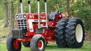 International Harvester Tractors Manufactured In The 70s And 80s