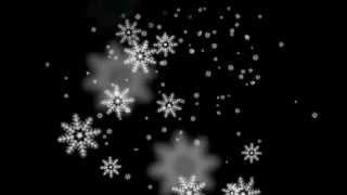 Sony Vegas Sparkle   Falling Snowflakes
