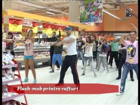 Flash-mob printre rafturi (P)