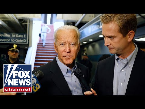 Biden confronted with question of Obama's endorsement