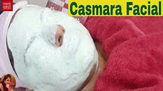 Casmara full facial in Hindi-Casmara Algae peel off mask(Rubber Mask)