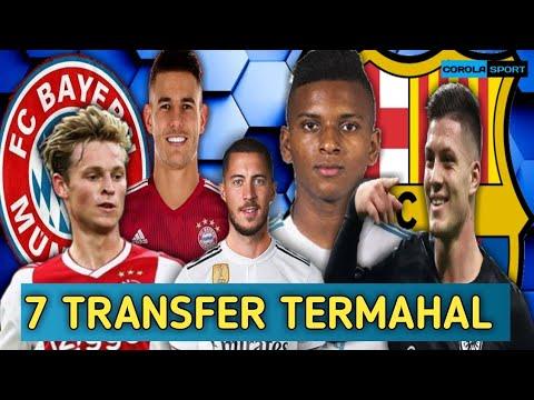 7 Transfer Pemain Termahal di Bursa Transfer Musim Panas 2019 | BERITA BOLA TERBARU
