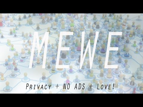 NEXT GEN SOCIAL NETWORK – MEWE – No Ads, No Algorithms and Perfect Privacy!