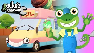 Ice Cream Colors With Vicky The Ice Cream Truck   Geckos Garage   Learn Colors For Toddlers
